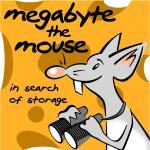 click to know more about the original thinking behind Megabyte the mouse